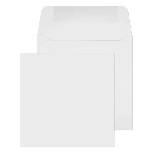 Blake Purely Everyday White Gummed Square Wallet 100x100mm 100gsm Pack 500 Code 0100G