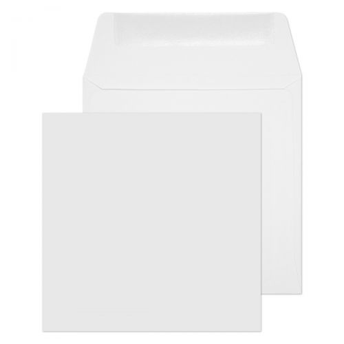 Blake Purely Everyday White Gummed Square Wallet 120x120mm 100gsm Pack 500 Code 0120SQ