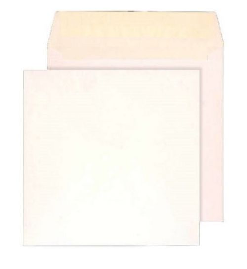 Blake Purely Everyday White Peel & Seal Square Wallet 140X140mm 100Gm2 Pack 500 Code 0140Ps 3P