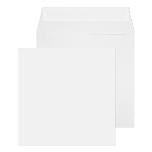 Blake Purely Everyday White Peel & Seal Square Wallet 140x140mm 100gsm Pack 500 Code 0140PS