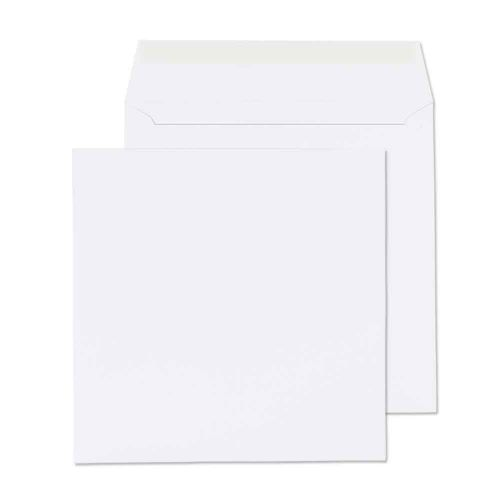 Blake Purely Everyday White Peel & Seal Square Wallet 155x155mm 100gsm Pack 500 Code 0155PS