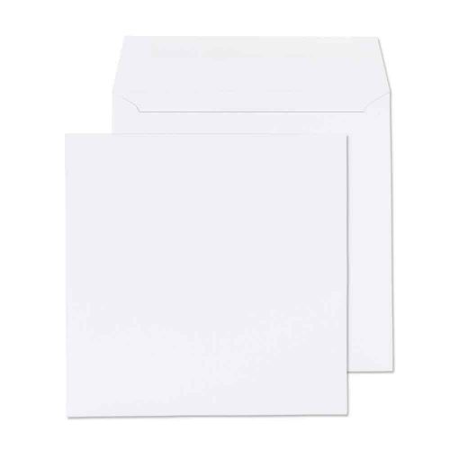 Blake Purely Everyday White Gummed Square Wallet 155x155mm 100gsm Pack 500 Code 0155SQ