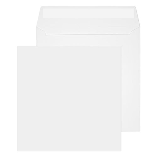 Blake Purely Everyday White Peel & Seal Square Wallet 160x160mm 100gsm Pack 500 Code 0160PS