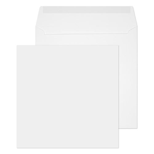 Blake Purely Everyday White Gummed Square Wallet 160x160mm 100gsm Pack 500 Code 0160SQ