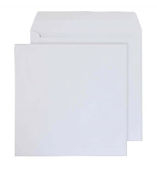 Blake Purely Everyday White Gummed Square Wallet 165x165mm 100gsm Pack 500 Code 0165SQ