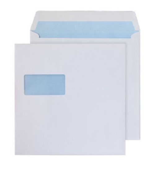 Blake Purely Everyday White Window Gummed Square Wallet 170X170mm 100Gm2 Pack 500 Code 0170W 3P