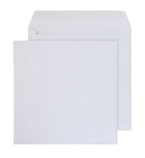 Purely Everyday Square Wallet Gummed White 100gsm 195x195mm Ref 0195SQ [Pack 500] *10 Day Leadtime*
