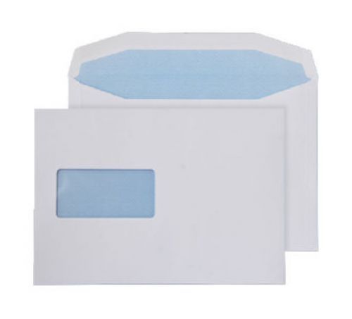 Purely Everyday Mailer Gummed Window White 90gsm C5+ 162x238mm Ref 019M Pk 500 *10 Day Leadtime*