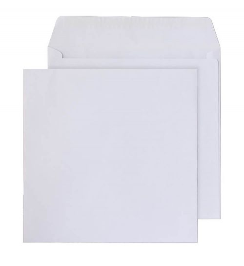 Blake Purely Everyday White Peel & Seal Square Wal let 200X200mm 100Gm2 Pack 500 Code 0200Ps 3P