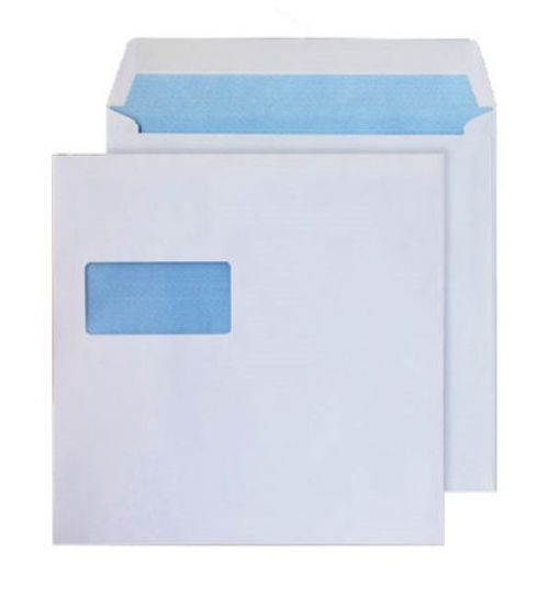Blake Purely Everyday White Window Gummed Square Wallet 240X240mm 100Gm2 Pack 250 Code 0240W 3P