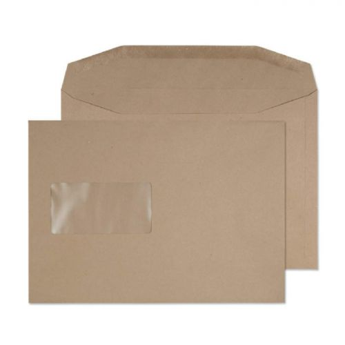 Purely Everyday Mailer Gummed Window Manilla 80gsm C5 162x229mm Ref 1002 Pk 500 *10 Day Leadtime*