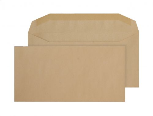 Blake Purely Everyday Manilla Gummed Mailer 121X235mm 80Gm2 Pack 1000 Code 1004 3P