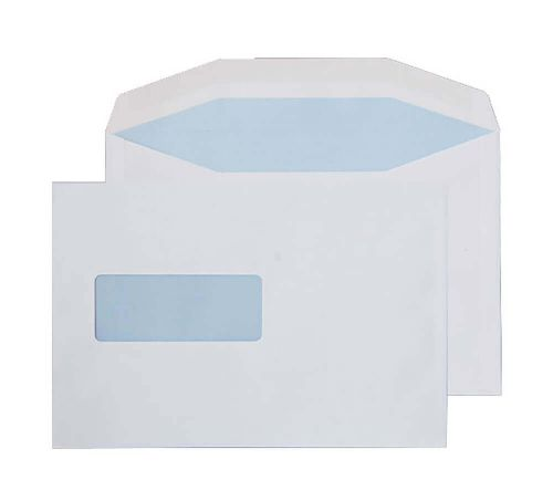 Blake Purely Everyday White Window Gummed Mailer 162x238mm 90gsm Pack 500 Code 1006