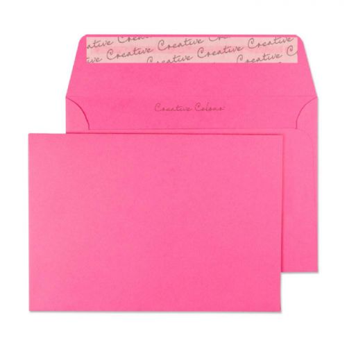 Blake Creative Colour Flamingo Pink Peel and Seal Wallet C6 114x162mm 120gsm (Pack 500) Code 102
