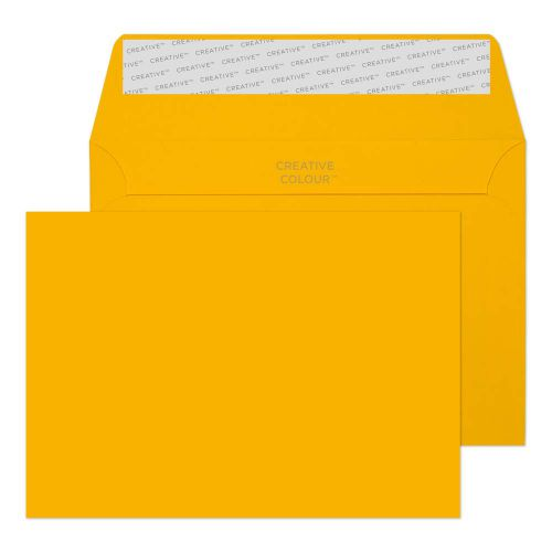 Blake Creative Colour Egg Yellow Peel and Seal Wallet C6 114x162mm 120gsm (Pack 500) Code 104