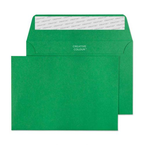 Blake Creative Colour Avocado Green Peel and Seal Wallet C6 114x162mm 120gsm (Pack 500) Code 108