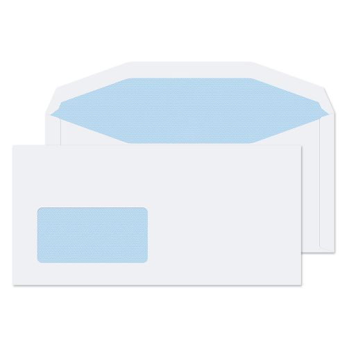 Blake Purely Everyday White Window Gummed Mailer 110x220mm 90gsm Pack 1000 Code 112204CBC