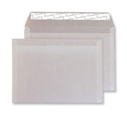 Blake Creative Senses Wallet Peel and Seal Translucent White C6 114×162mm 110gsm (Pk 500) Code 115