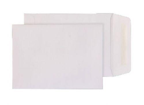 Blake Purely Everyday White Gummed Pocket 124X89mm  90Gm2 Pack 1000 Code 12489 3P