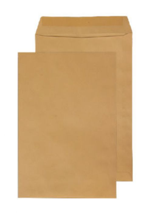 Blake Purely Everyday Pocket Envelope C3 Gummed Plain 115gsm Manilla (Pack 125)