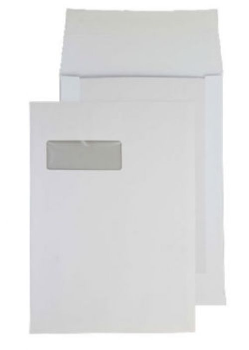 Purely Packaging Envelope Board Backed P&S 150gsm C4 White Ref 12901 [Pack 125] *10 Day Leadtime*