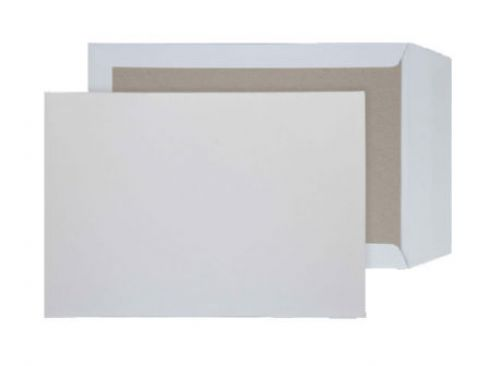 Blake Purely Packaging White Peel & Seal Board Back Pocket 324X229mm 120Gm2 Pack 125 Code 12935 3P