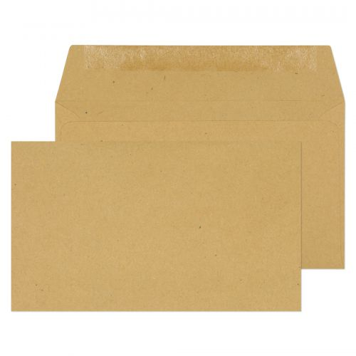 Blake Purely Everyday Wallet Envelope 89x152mm Gummed Plain 70gsm Manilla (Pack 1000)