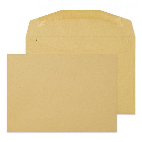 Blake Purely Everyday Manilla Gummed Mailer 114X16 2mm 80Gm2 Pack 1000 Code 13775 3P