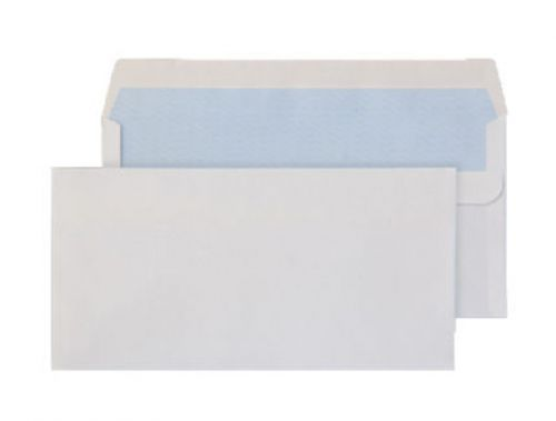 Blake Purely Everyday White Self Seal Wallet 110X2 20mm 90Gm2 Pack 1000 Code 13882/50 Pr 3P