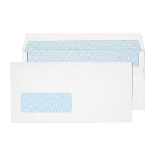 Blake Purely Everyday White Window Self Seal Wallet 110X220mm 90Gm2 Pack 1000 Code 13884 3P