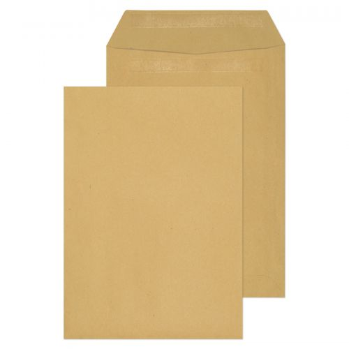 ValueX Pocket Envelope C5 Self Seal Plain 80gsm Manilla (Pack 500)