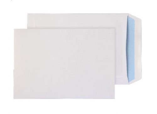 ValueX Pocket Envelope C5 Self Seal Plain 90gsm White (Pack 25)