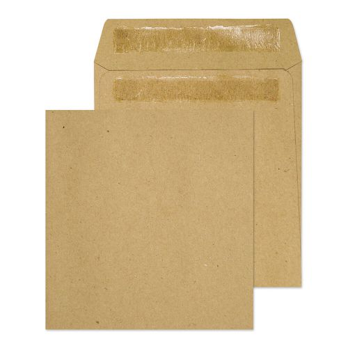 ValueX Wage Envelope 108x102mm Self Seal Plain 80gsm Manilla (Pack 1000)