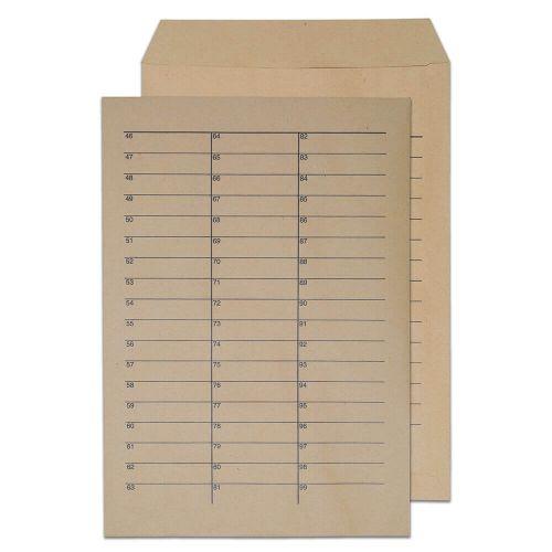 Blake Purely Everyday Manilla Ungummed Internal Mail Pocket 324x229mm 90gsm Pack 250 Code 13941INT