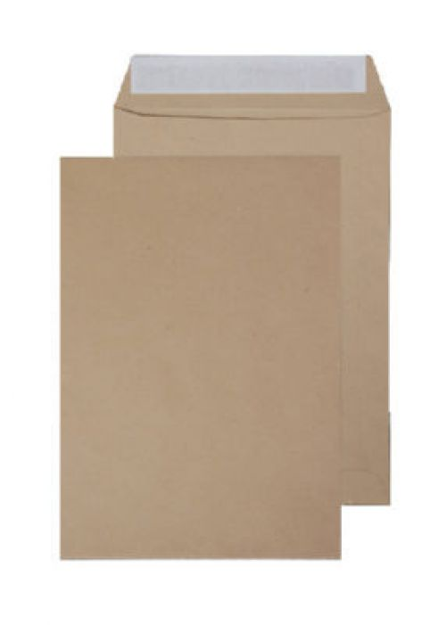Blake Purely Everyday Manilla Peel & Seal Pocket 254X178mm 115Gm2 Pack 500 Code 14886Ps 3P