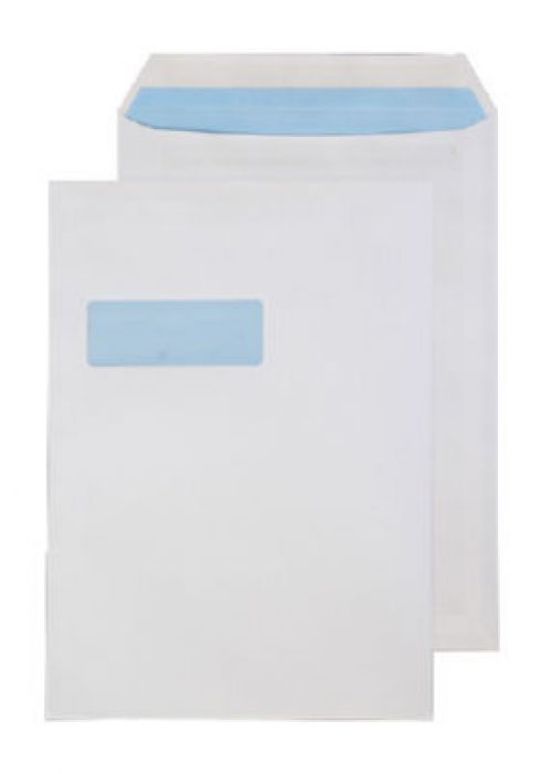 Purely Everyday White Self Seal Pocket Window C4 324x229mm Ref 14892 [Pack 250] *10 Day Leadtime*