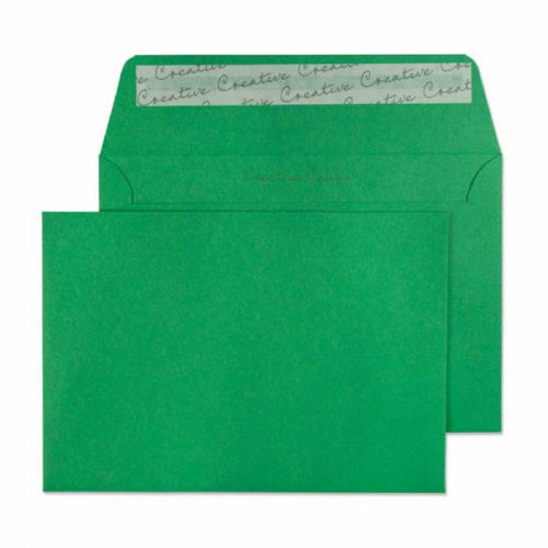 Blake Creative Colour Wallet Peel and Seal Avocado Green C6 114×162mm 120gsm (Pack 25) Code 15108