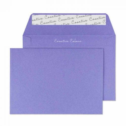 Blake Creative Colour Wallet Peel and Seal Summer Violet C6 114×162mm 120gsm (Pack 25) Code 15111