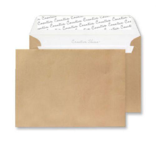 Blake Creative Shine Wallet Peel and Seal Metallic Gold 120gsm C6 114×162mm (Pk 25) Code 15113