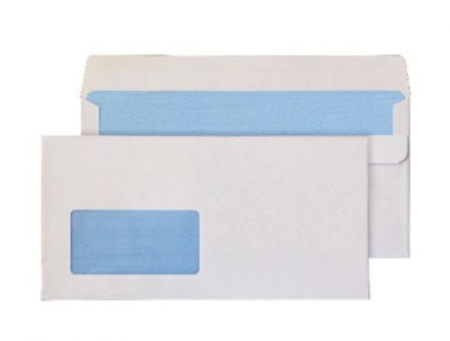 Blake Purely Everyday White Window Self Seal Wallet 114X229mm 90Gm2 Pack 1000 Code 15884 3P