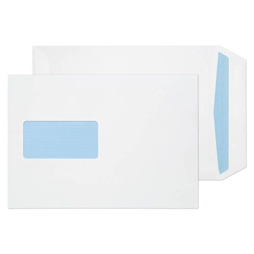 ValueX Pocket Envelope C5 Self Seal Window 100gsm White (Pack 500)