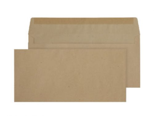 Purely Everyday Manilla Gummed Wallet BRE 102x216mm Ref 1700 [Pack 1000] *10 Day Leadtime*