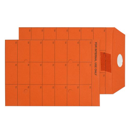 Purely Everyday Int Mail Pckt Reseal Orange Manilla 120gsm C5 Ref 18350RES Pk500 *10 Day Leadtime*
