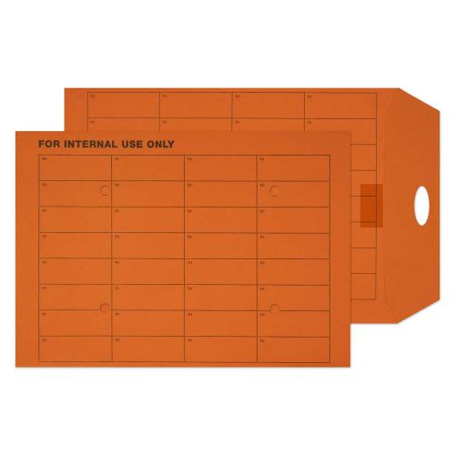 Blake Purely Everyday Orange Manilla Reseal Internal Mail Pocket 324X229 120G Pk250 Code 18941Res 3P