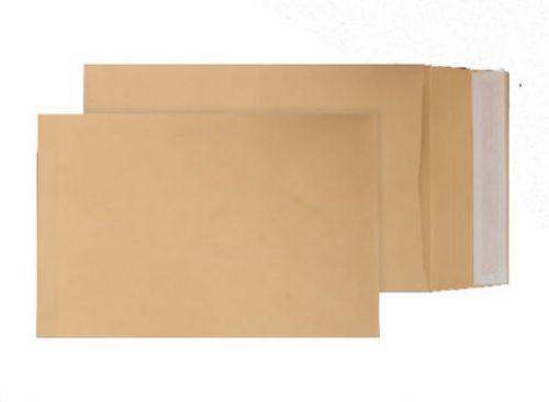 Blake Purely Packaging Manilla Peel & Seal Gusset Pocket 324X229X25mm 130G Pk120 Code 1991/10 Pr 3P