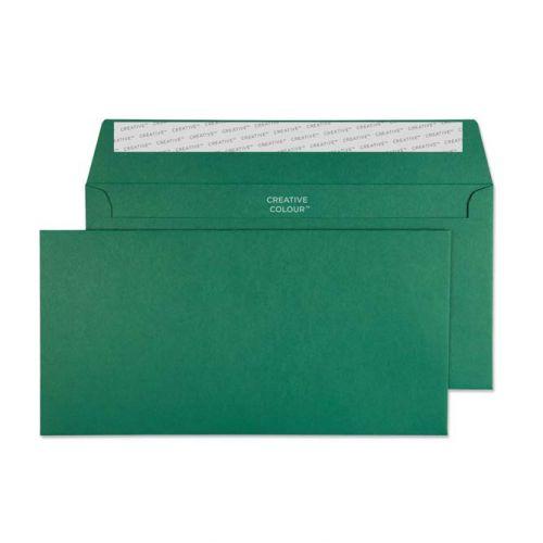 Blake Creative Colour British Racing Green Peel & Seal Wallet 114X229mm 120Gm2 Pack 500 Code 221 3P