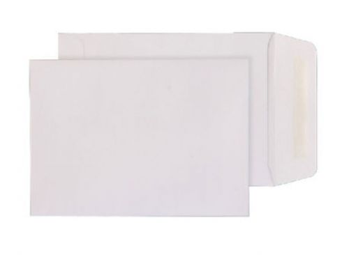 Blake Purely Everyday White Gummed Pocket 190X127m m 90Gm2 Pack 500 Code 2225 3P