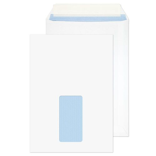 ValueX Pocket Peel and Seal Envelope Window C5 229x162mm White (Pack 500)