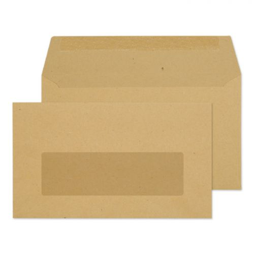 Purely Everyday Wallet Gummed Window Manilla 70gsm 89x152mm Ref 23770 Pk 1000 *10 Day Leadtime*