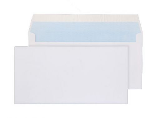 Blake Purely Everyday Wallet Envelope DL Peel and Seal Plain 100gsm White (Pack 50)